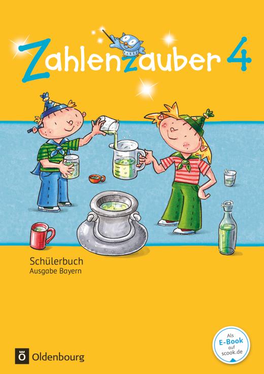 Zahlenzauber - Schülerbuch mit Kartonbeilagen - 4. Jahrgangsstufe