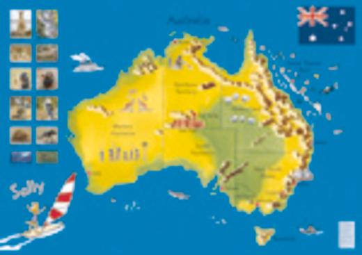 Sally - Australia - Poster - Zu allen Schuljahren