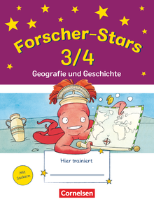 Forscher-Stars - Geografie und Geschichte - Übungsheft - 3./4. Schuljahr
