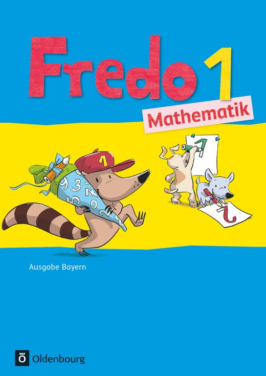Fredo - Mathematik - Schülerbuch mit Kartonbeilagen - 1. Jahrgangsstufe