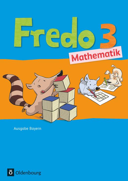 Fredo - Mathematik - Schülerbuch mit Kartonbeilagen - 3. Jahrgangsstufe