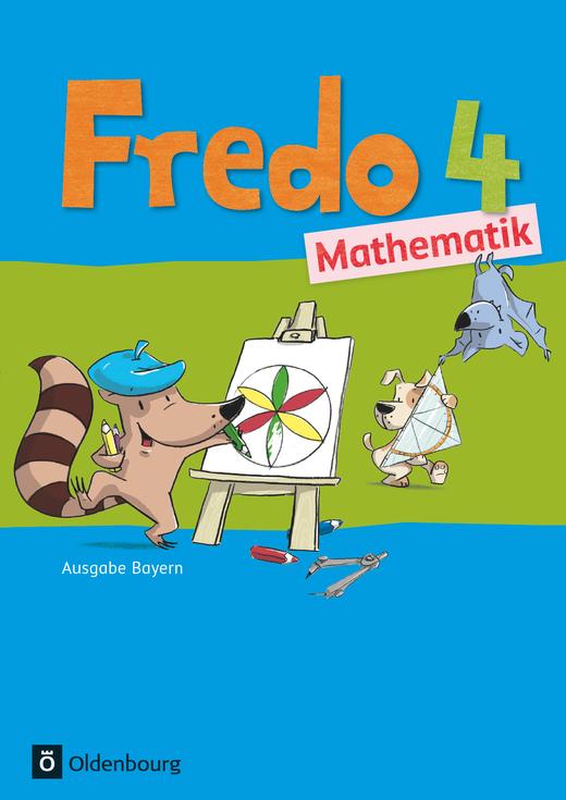 Fredo - Mathematik - Schülerbuch mit Kartonbeilagen - 4. Jahrgangsstufe