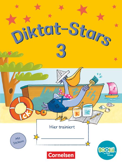 Diktat-Stars - Übungsheft - 3. Schuljahr