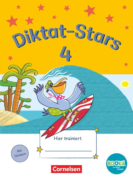 Diktat-Stars - Übungsheft - 4. Schuljahr