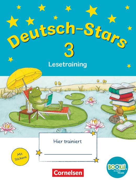 Deutsch-Stars - Lesetraining - Übungsheft - 3. Schuljahr