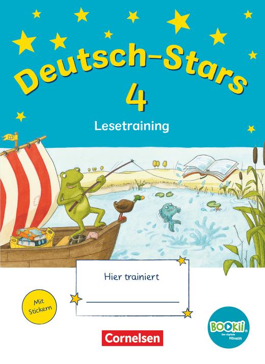 Deutsch-Stars - Lesetraining - Übungsheft - 4. Schuljahr