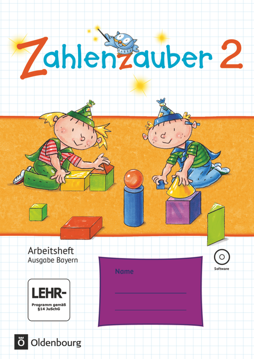 Zahlenzauber - Arbeitsheft mit interaktiven Übungen - 2. Jahrgangsstufe