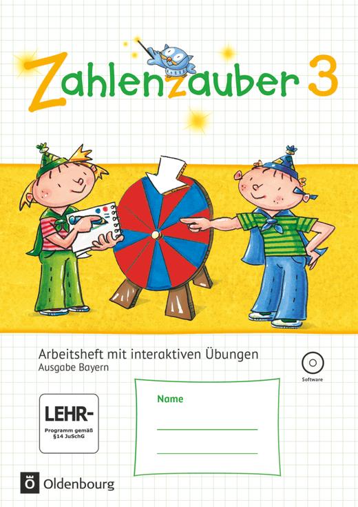 Zahlenzauber - Arbeitsheft mit interaktiven Übungen - 3. Jahrgangsstufe