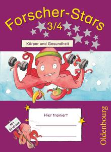 Forscher-Stars - Körper und Gesundheit - Übungsheft - 3./4. Schuljahr