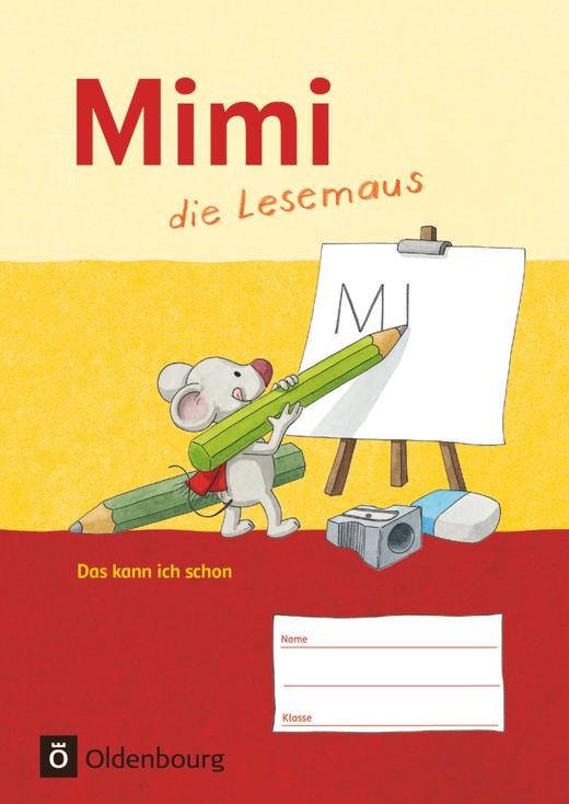 """Mimi, die Lesemaus - Lernentwicklungsheft """"Das kann ich schon"""""""