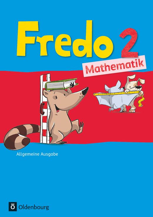 Fredo - Mathematik - Schülerbuch mit Kartonbeilagen - 2. Schuljahr