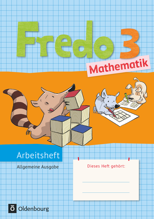 Fredo - Mathematik - Arbeitsheft - 3. Schuljahr