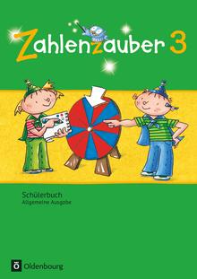 Zahlenzauber - Schülerbuch mit Kartonbeilagen - 3. Schuljahr