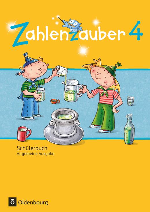 Zahlenzauber - Schülerbuch mit Kartonbeilagen - 4. Schuljahr