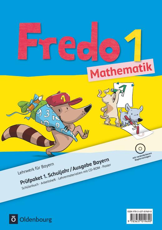 Fredo - Mathematik - Produktpaket - 1. Jahrgangsstufe