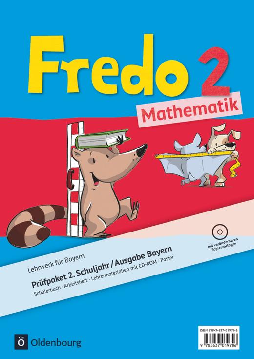 Fredo - Mathematik - Produktpaket - 2. Jahrgangsstufe