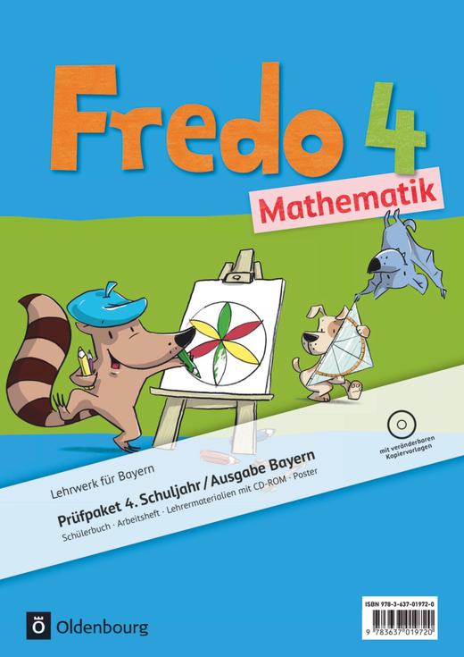 Fredo - Mathematik - Produktpaket - 4. Jahrgangsstufe