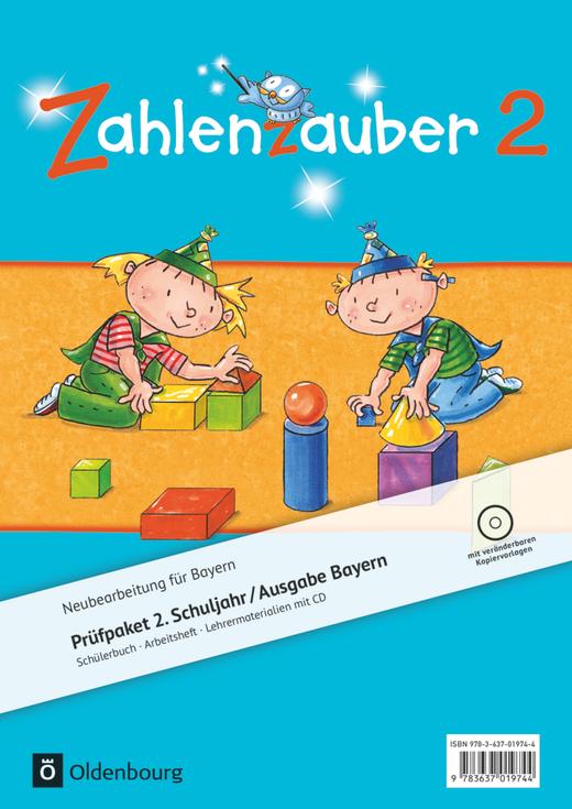 Zahlenzauber - Produktpaket - 2. Jahrgangsstufe