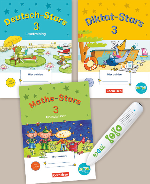 BOOKii-Starter-Sets - Produktpaket - 3. Schuljahr