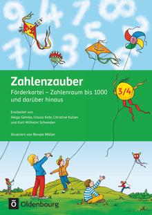 Zahlenzauber - Förderkartei - 3./4. Schuljahr