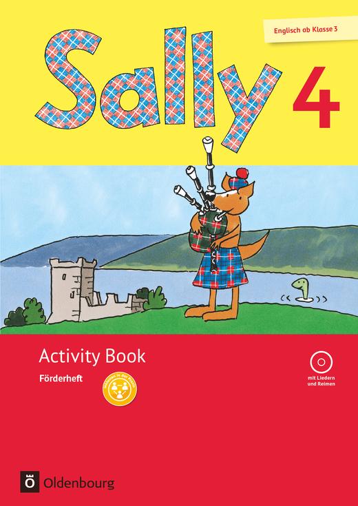 Sally - Activity Book: Förderheft - 4. Schuljahr