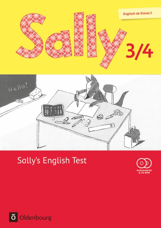 Sally - Sally's English Test - Lernstandskontrollen mit CD-Extra - 3./4. Schuljahr