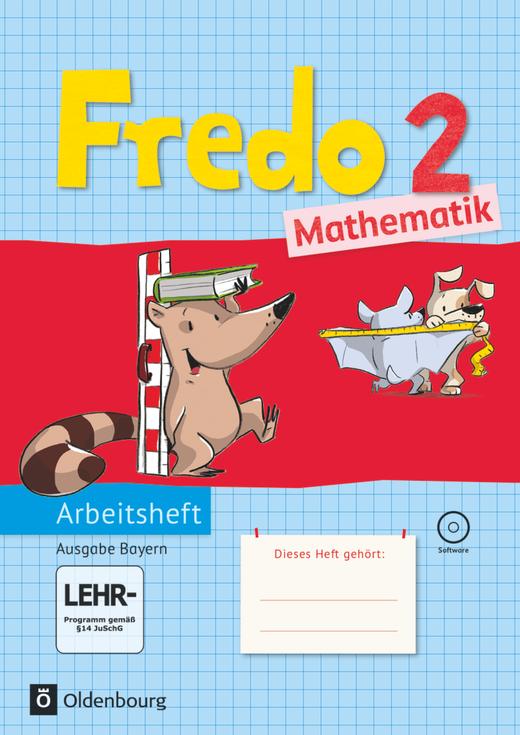 Fredo - Mathematik - Arbeitsheft mit interaktiven Übungen - 2. Jahrgangsstufe