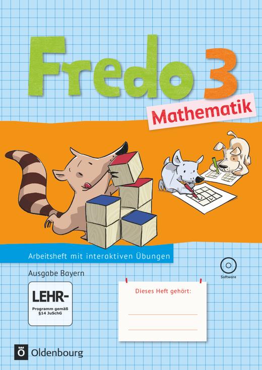 Fredo - Mathematik - Arbeitsheft mit interaktiven Übungen - 3. Jahrgangsstufe