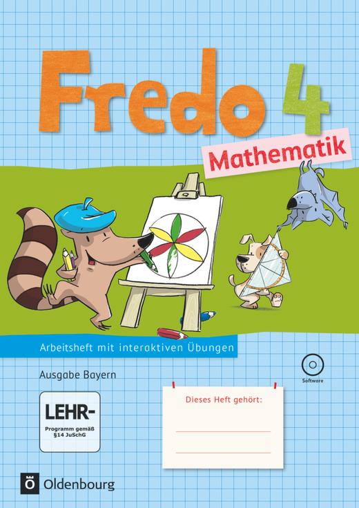 Fredo - Mathematik - Arbeitsheft mit interaktiven Übungen - 4. Jahrgangsstufe