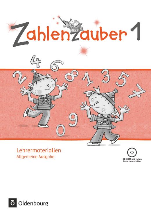 Zahlenzauber - Lehrermaterialien mit CD-ROM - 1. Schuljahr