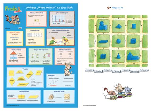 Fredo - Mathematik - Poster - 3. Schuljahr