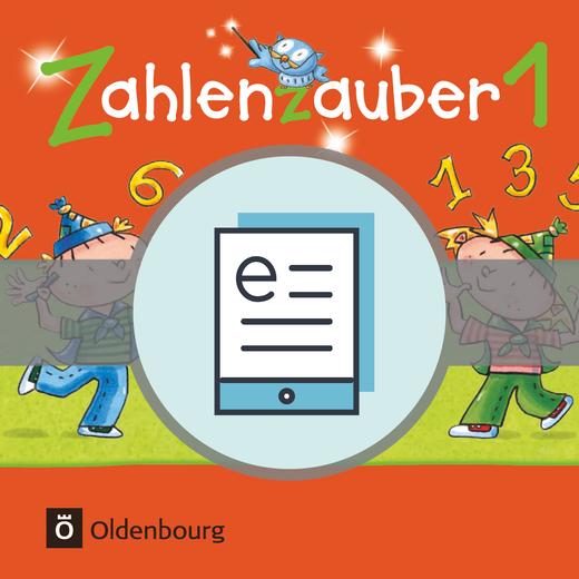Zahlenzauber - Schülerbuch als E-Book - 1. Schuljahr