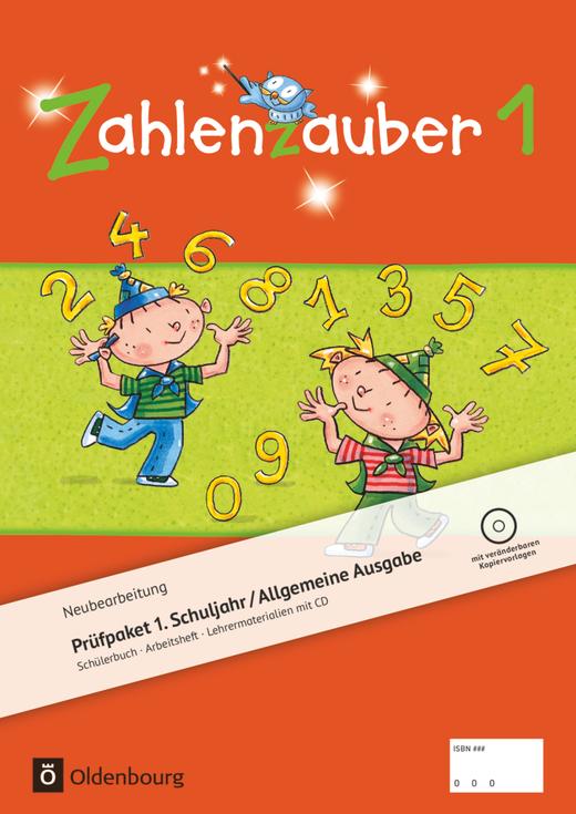 Zahlenzauber - Produktpaket - 1. Schuljahr