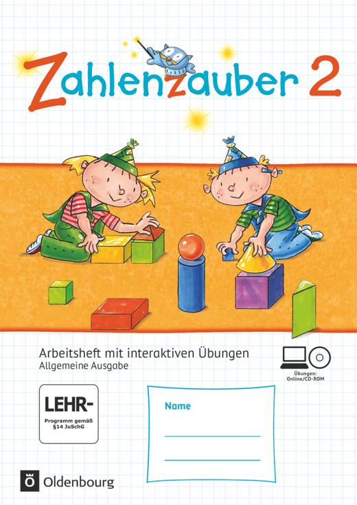 Zahlenzauber - Arbeitsheft mit interaktiven Übungen auf scook.de - 2. Schuljahr