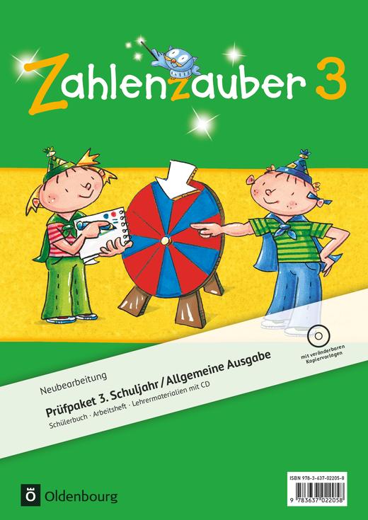 Zahlenzauber - Produktpaket - 3. Schuljahr