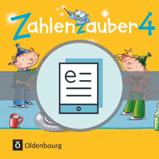 Zahlenzauber - Schülerbuch als E-Book - 4. Schuljahr