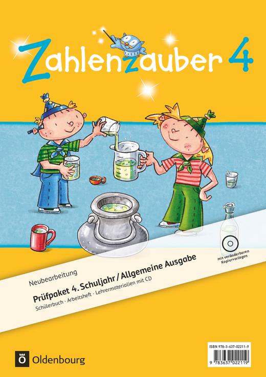 Zahlenzauber - Produktpaket - 4. Schuljahr