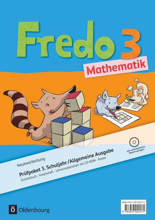 Fredo - Mathematik - Produktpaket - 3. Schuljahr