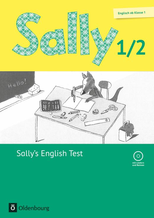 Sally - Sally's English Test - Lernstandskontrollen mit CD-Extra - 1./2. Schuljahr