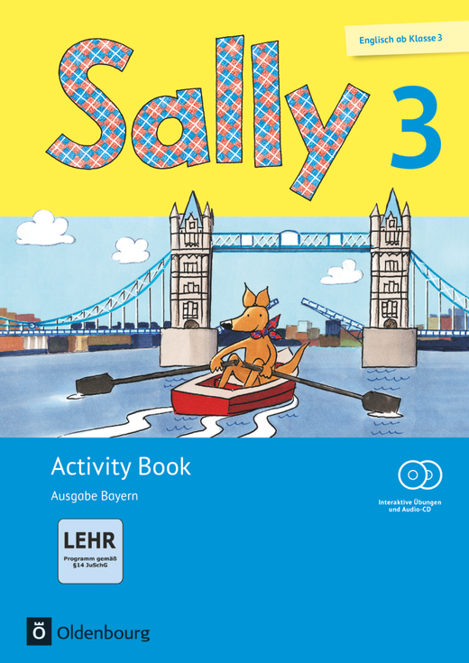 Sally - Activity Book mit interaktiven Übungen - 3. Jahrgangsstufe