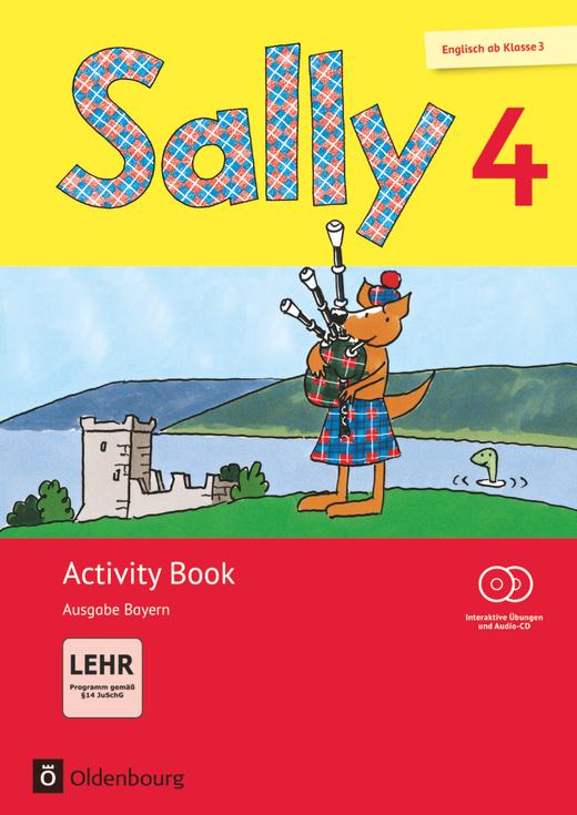 Sally - Activity Book mit interaktiven Übungen - 4. Jahrgangsstufe