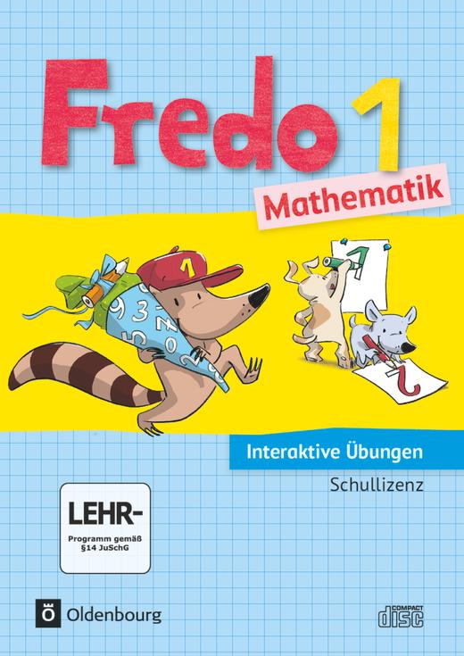 Fredo - Mathematik - Interaktive Übungen als Ergänzung zum Arbeitsheft - 1. Schuljahr