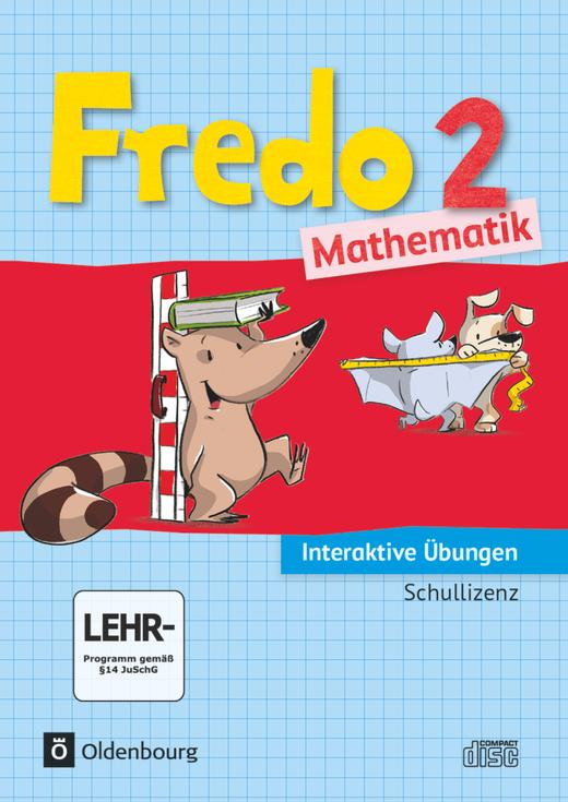 Fredo - Mathematik - Interaktive Übungen als Ergänzung zum Arbeitsheft - 2. Schuljahr
