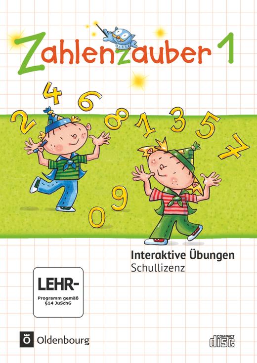 Zahlenzauber - Interaktive Übungen als Ergänzung zum Arbeitsheft - 1. Schuljahr