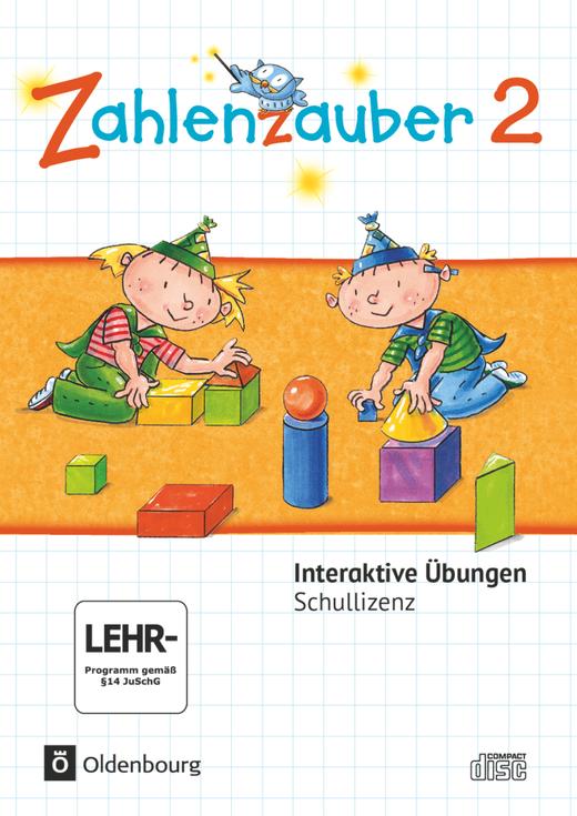 Zahlenzauber - Interaktive Übungen als Ergänzung zum Arbeitsheft - 2. Schuljahr