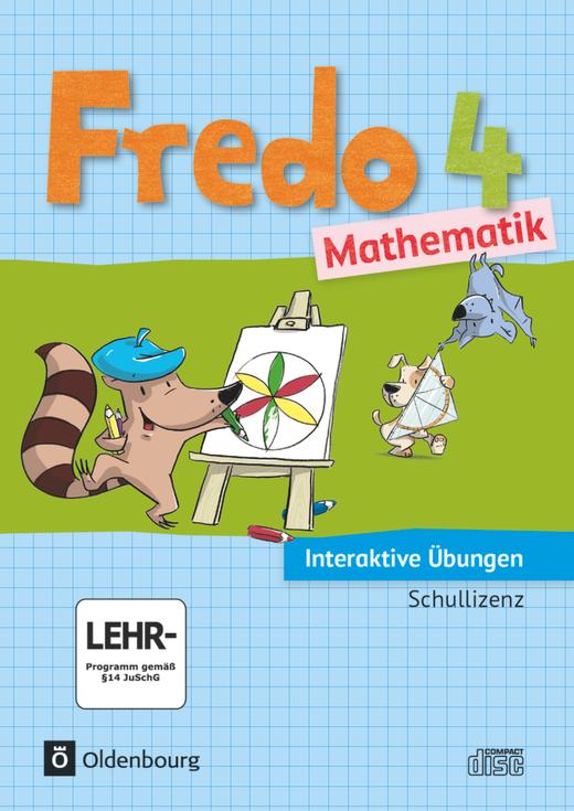 Fredo - Mathematik - Interaktive Übungen als Ergänzung zum Arbeitsheft - 4. Jahrgangsstufe