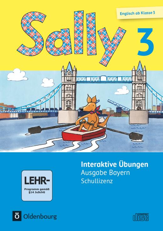 Sally - Interaktive Übungen als Ergänzung zum Activity Book - 3. Jahrgangsstufe
