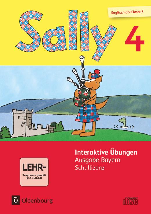 Sally - Interaktive Übungen als Ergänzung zum Activity Book - 4. Jahrgangsstufe