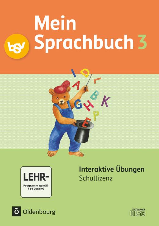 Mein Sprachbuch - Interaktive Übungen als Ergänzung zum Arbeitsheft - 3. Jahrgangsstufe