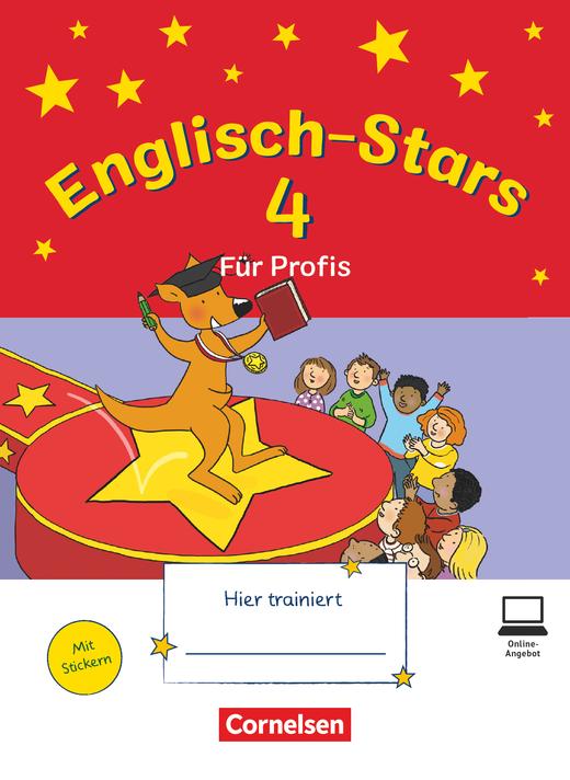 Englisch-Stars - Übungsheft für Profis - 4. Schuljahr